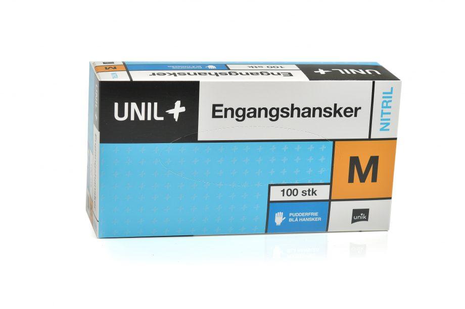 UNIL+ Engangshansker NITRIL